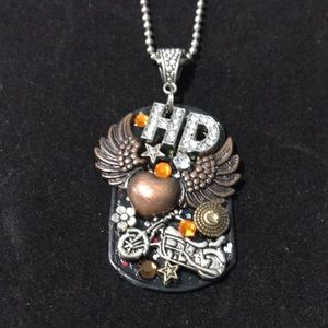 Harley Davidson necklace